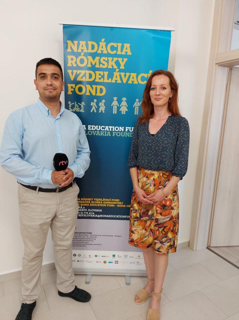 Projektová manažérka programu Amos Academy Veronika Komárová